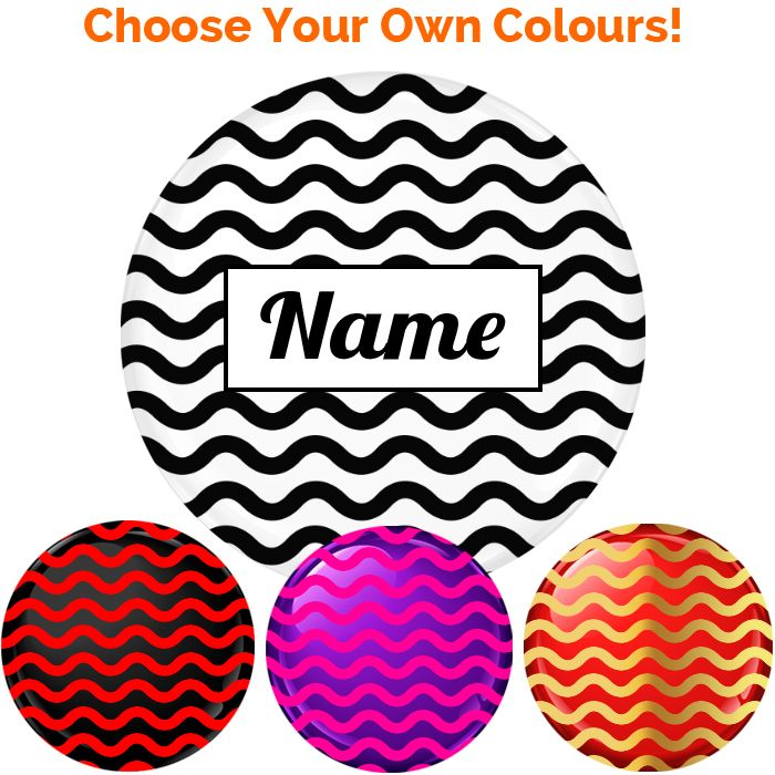 Name Badge - Create Your Own #017 - 75mm