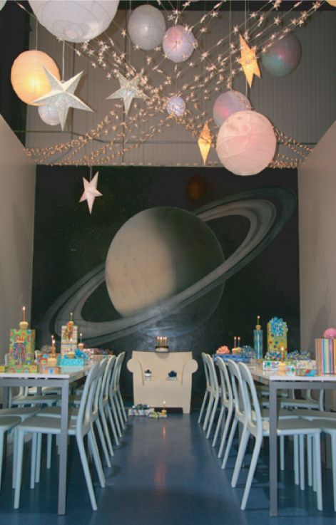 Best 25 outer space party ideas on pinterest space for Outer space childrens decor