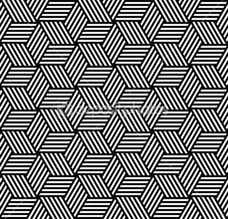 Sem costura padrão geométrico em op art design — Ilustração de Stock #6827438