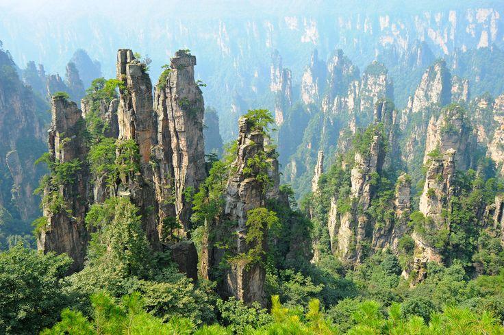 映画「アバター」のモデルとなったのは、中国の武陵源という世界遺産だった!