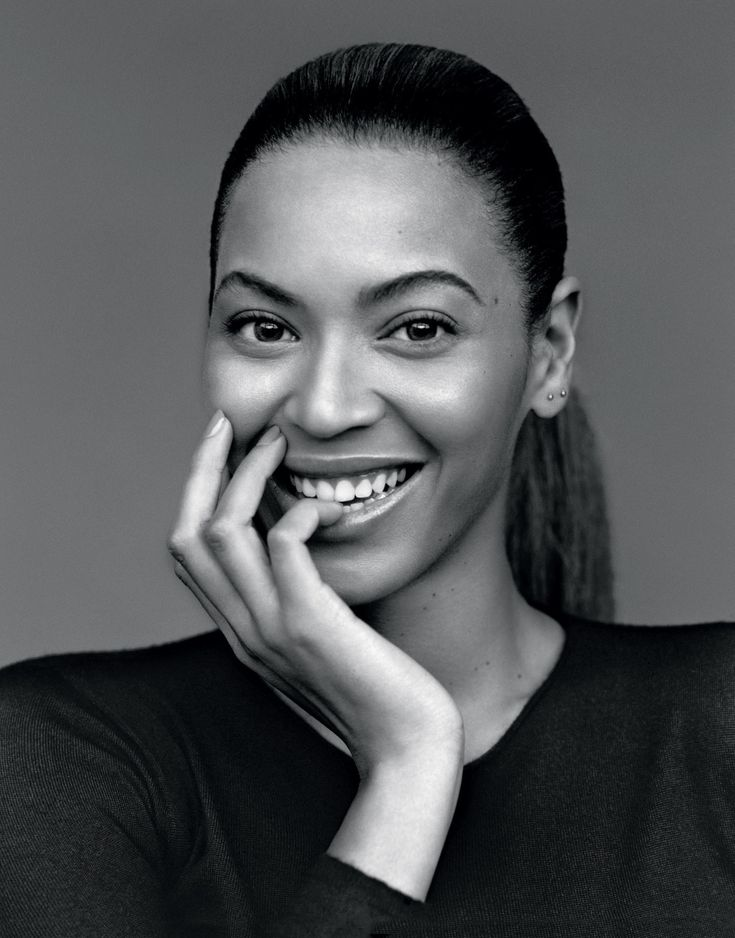 portraits en noir et blanc | Beyoncé | Froggista Follow us @msbeautyhair Get coupon code: R43K on www.msbeautyhair.com