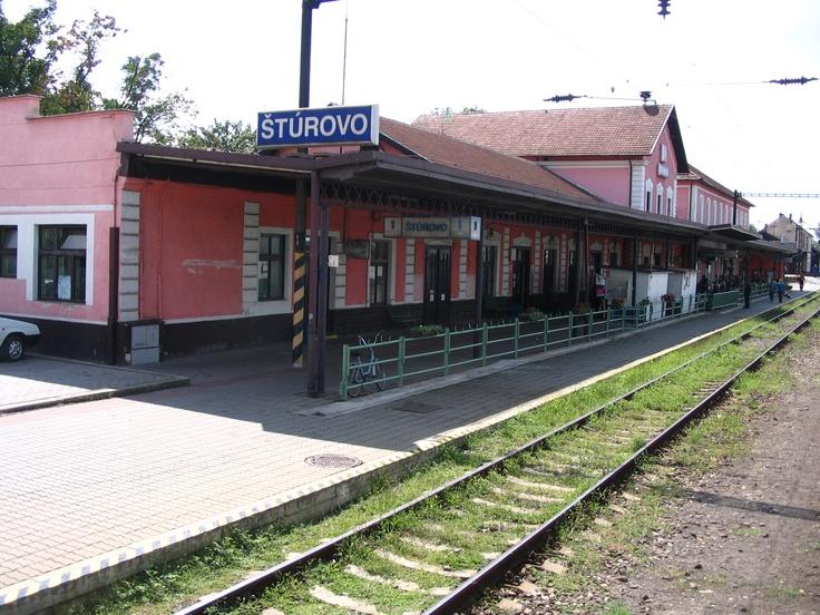 Slovakia - Sturovo station