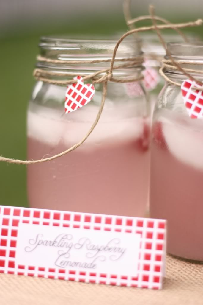 lemonaid in a mason jar - and other bake sale ideas