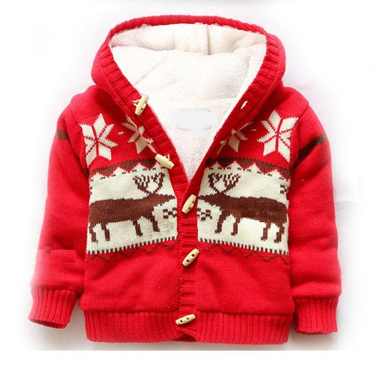 22.42$  Watch now - http://alip6e.shopchina.info/go.php?t=32765091316 - baby boys coats winter Infant Coats&Outerwear Christmas Toddler Kids Clothes Hooded girl winter jackets coat manteau fille hiver  #buymethat