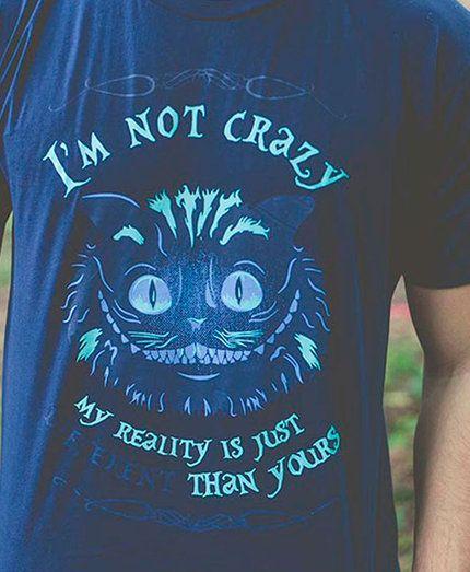 Camiseta Alice in Wonderland - Masculina