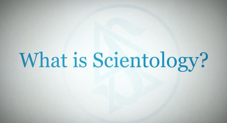 DYK?    There is an entire WEBSITE DEVOTED to ANSWERING the question, 'WHAT IS SCIENTOLOGY????'http://qoo.ly/di7hr