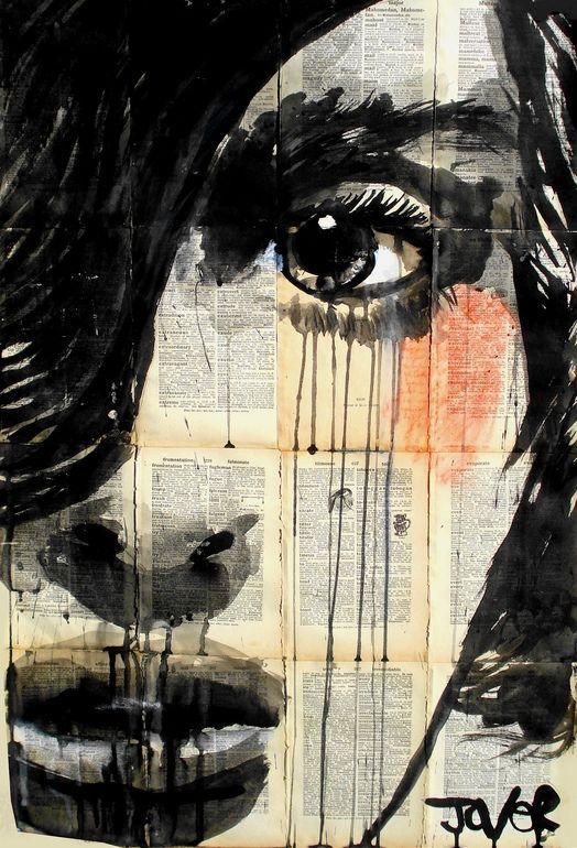 Saatchi Online Artist: Loui Jover; Pen and Ink, 2013, Drawing sleep walking