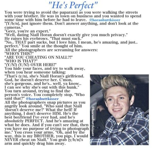 One direction imagines dating series