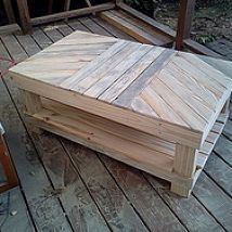 Hometalk :: My daughter needs a coffee table for her apartment, so here is the sec…