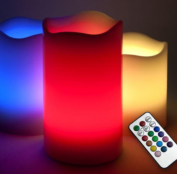 Dagaanbieding: Set van 3 Vlamloze LED Kaarsen