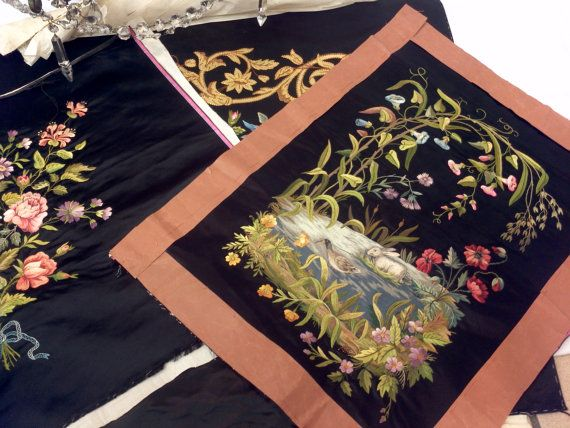 72 Best Embroidered Panels Images On Pinterest Chinese