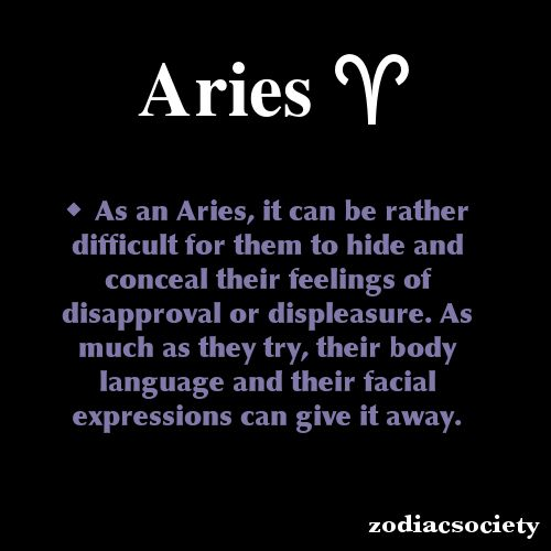 anything Aries zodiac related | zodiacsociety:Aries Zodiac Facts