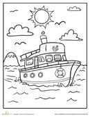 The sun is shining and the waves are splashing. What better way to spend the day than on a fun boat ride?