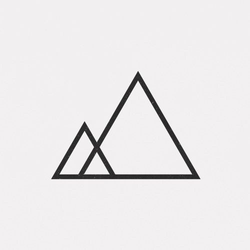 • Illustration Kunst Design Inspiration Tattoo Print digitale Kunst geometrische abstrakte Minimalismus minimale Geometrie Grafik Künstler auf Tumblr täglich min …