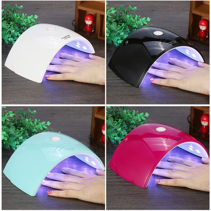 Professional SUN9C 24W UV Lamp Nail Polish Dryer LED Light Drying Gel Manicure #Unbranded