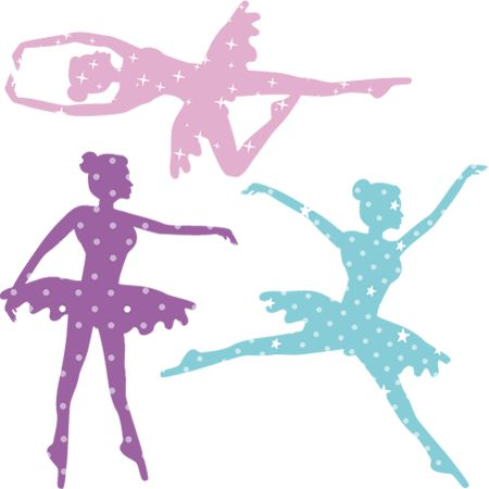 Stickers - DESIGN BY Charlotte - Stickers Danseuse Étoile