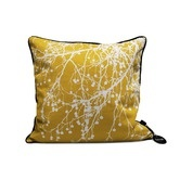 Found it at Wayfair - Tree Bomb Silk Pillow in Curry