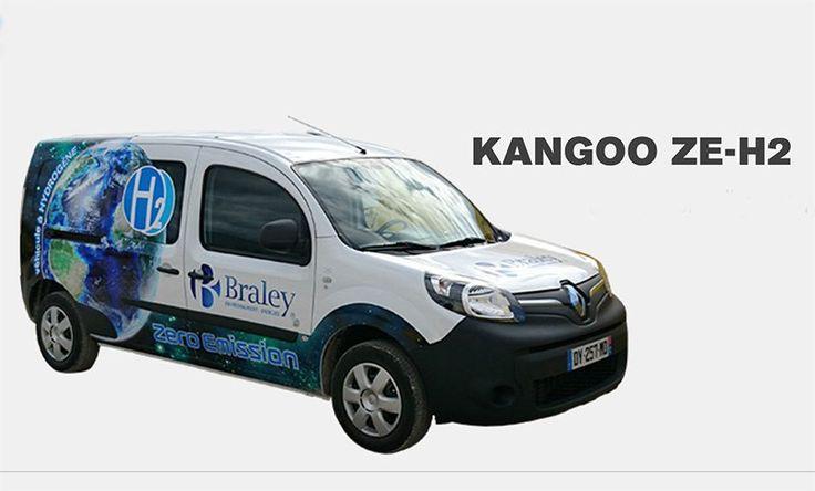 Presentan el Kangoo ZE-H2 vehículo eléctrico ligero