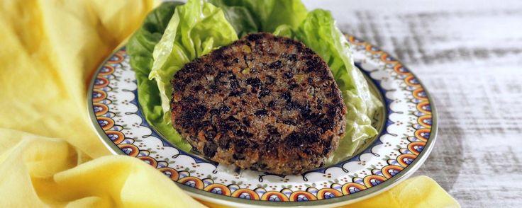Black Bean Quinoa Burger Recipe   The Chew - ABC.com