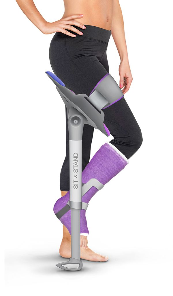 Sit & Stand Walking Assistance on Industrial Design Served