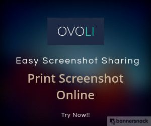 OVOLI is a #freescreenshotsharing web application that allows users to capture and share screenshots with friends instantly. Make the best use of this smartly designed application and share code, text, #screenshots and any images with others.