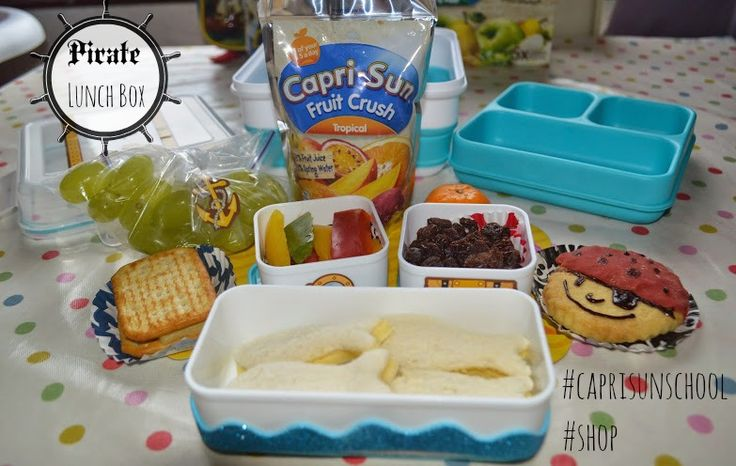 Back to school lunchbox ideas for little pirates. http://www.evans-crittens.com/2014/09/back-to-school-lunchbox-ideas-for.html #caprisunschool #cbias #shop