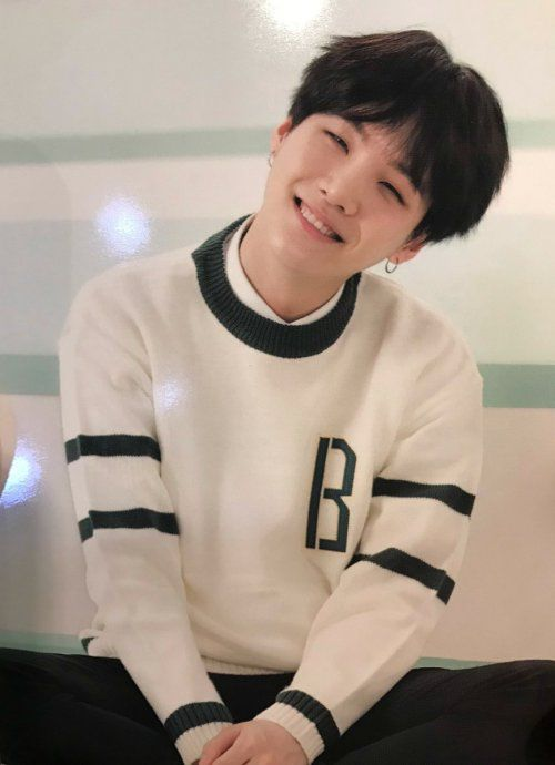 Suga I still can't believe that he is 24... How can someone at this age be this cute!?