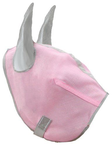 Hamilton Fly Mask for Horses Without Ears - Small - Pink Diamond by Hamilton. $17.49. Easy to clean mesh material - Just hose off!. Comfort cotton trim - provides comfort and coolness. Durable Netting - Protects eyes from ultraviolet rays. Available in small medium and large, with and without ears. Quality, comfort and style,  Hamilton Products fly masks are ideal for your horse.  Available in many styles and colors.  The adjustable fasteners are heavy duty with double elastic ...