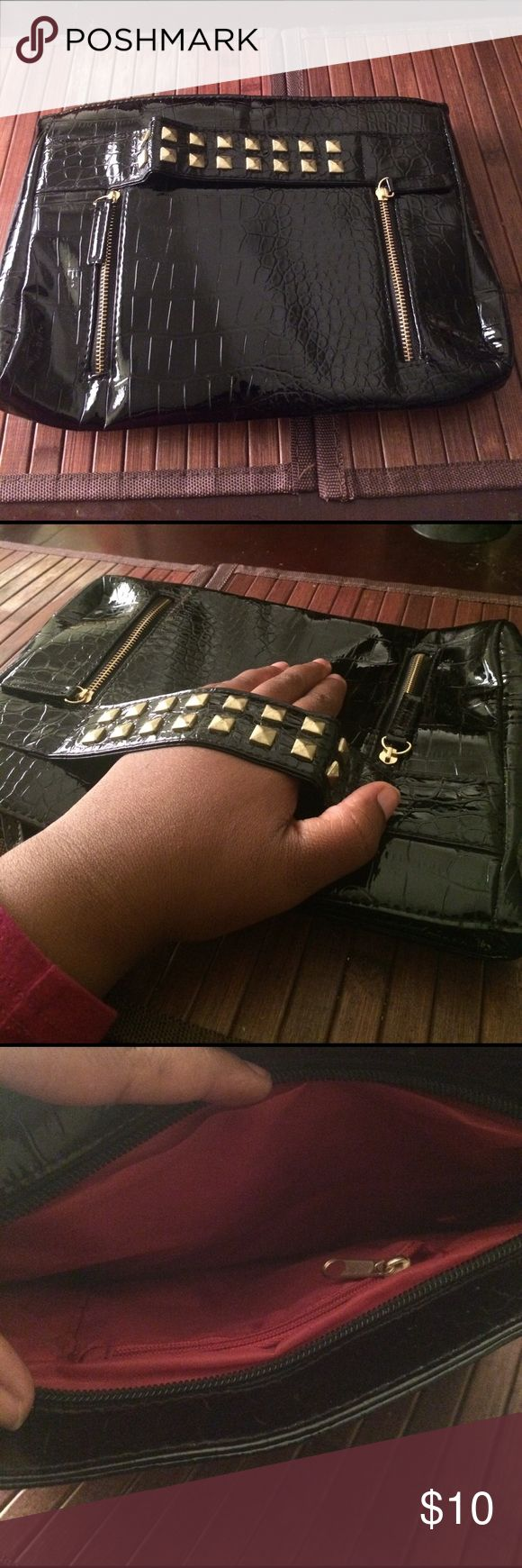 Rock Star Studded Clutch I love this Bag Great for Going Out! other Bags Clutches & Wristlets