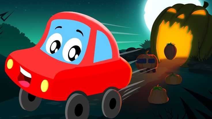 "Little Red Car | Jack 'o"" lantern out of bed 