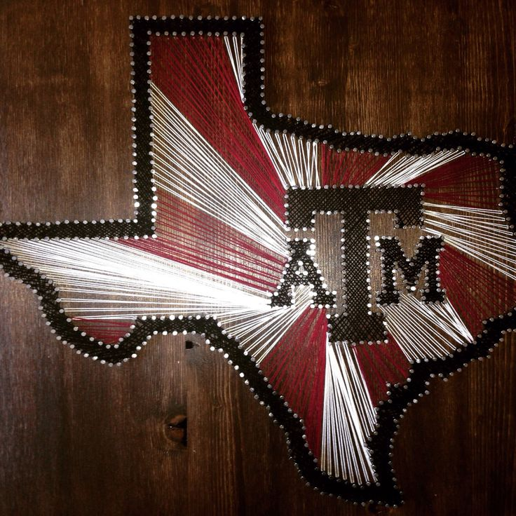 44 best things stringed images on pinterest etsy shop string string art sports logo texas am state outline by thingsstringed prinsesfo Image collections