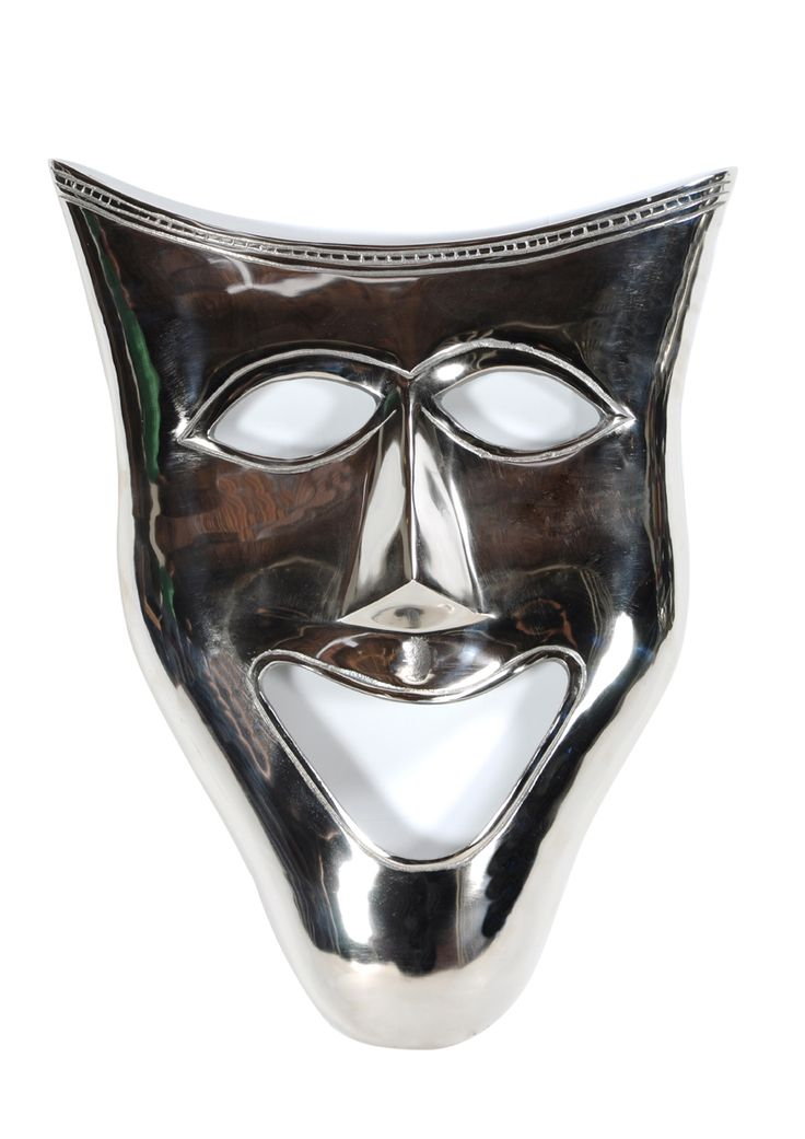 SMILE FACE -This expressive Aluminum  mask holds the attraction of everyone around and adds virtous feel in the room. Substantiate a new feel right away; DIMENSIONS:L45xW8xH60cm; PRICE:4900/-; Buy Now: http://tfrhome.com/landing/productlandingpage.php?product_code=ma-42