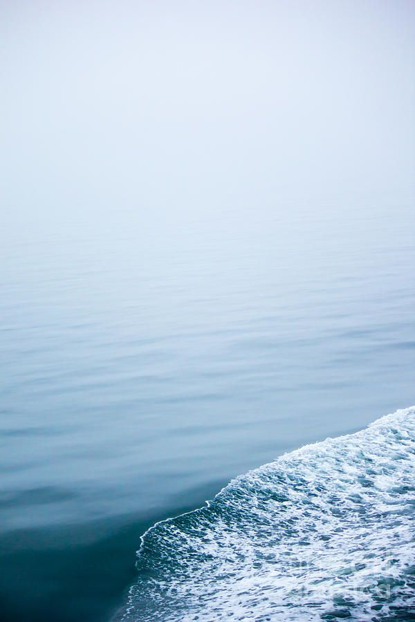 Minimal Waves Photograph  - Minimal Waves Fine Art Print