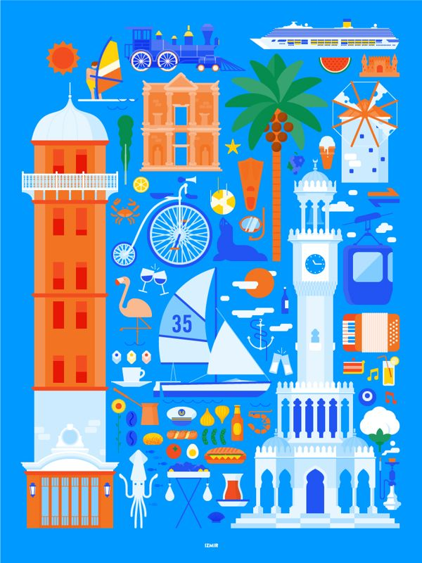 Illustrations for the Turkey Ministry of Culture and tourism10