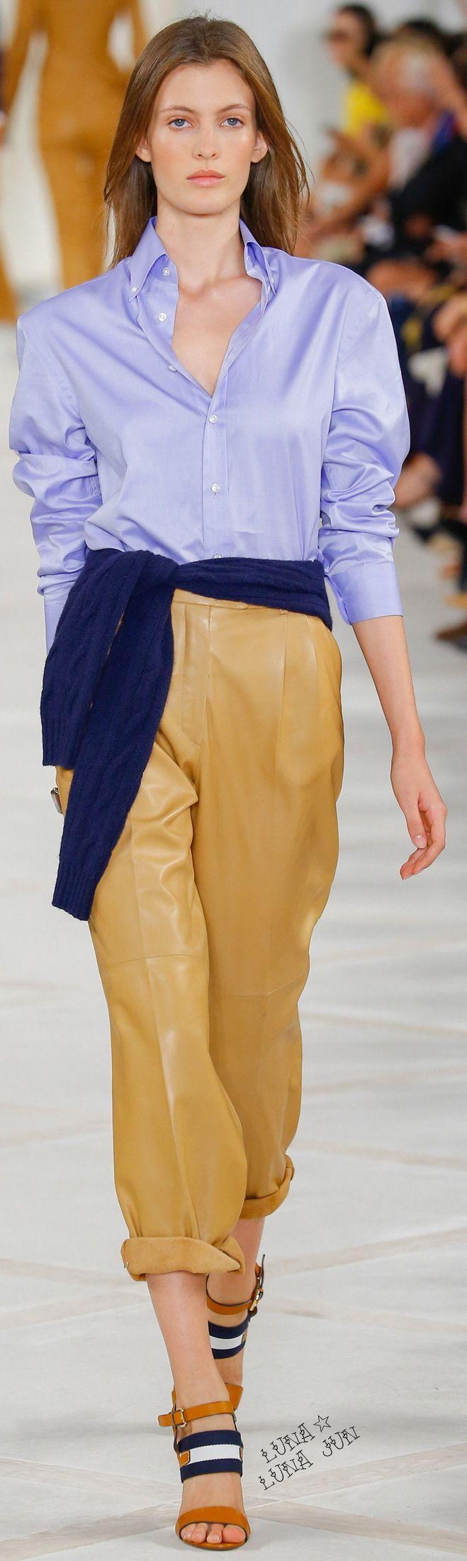 Ralph lauren spring 2016 ralph lauren pinterest Good style fashion show cleveland