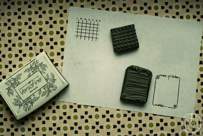 Défi gravure 12/12 - Une collection de marque-pages  pour finir l'année avec tout mon retard  !