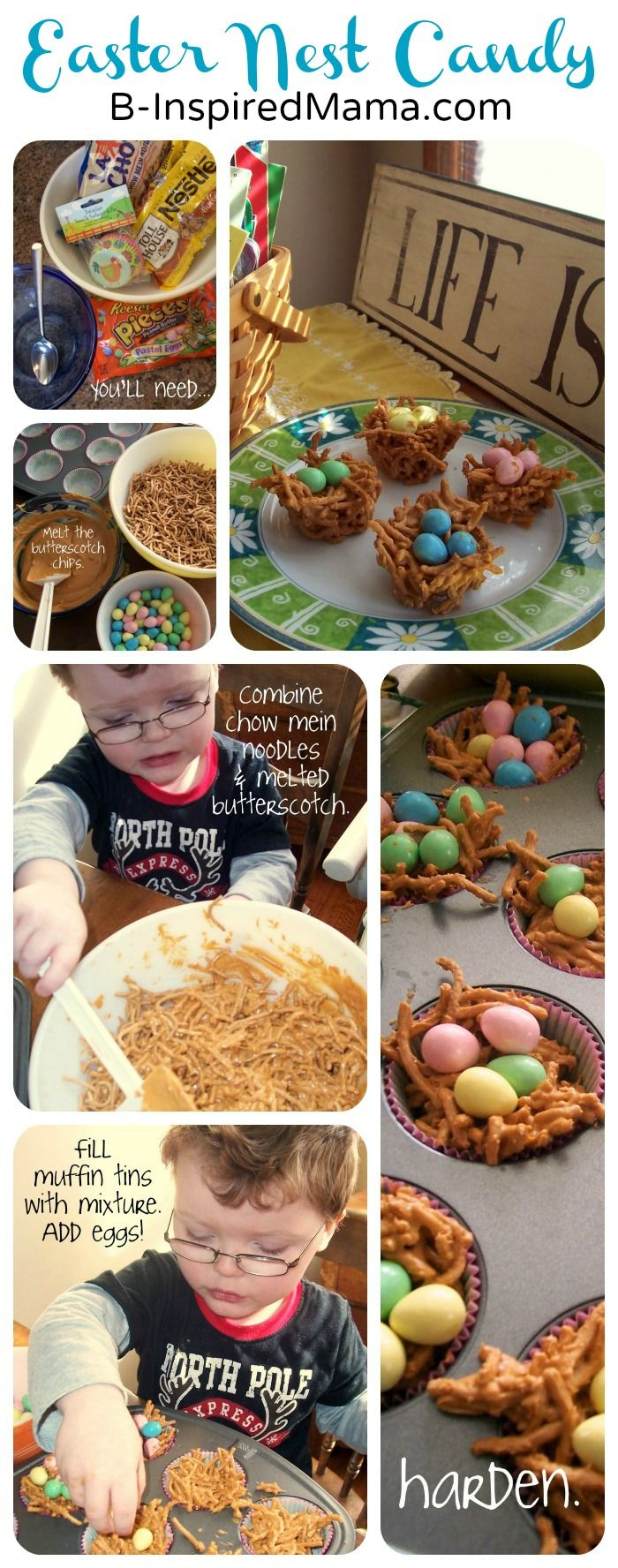 Nest Candy Easter Recipe from B-InspiredMama.com