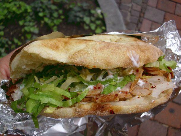Street Food in Germany: The Döner Kebap Sandwich. best sandwich I ever had.