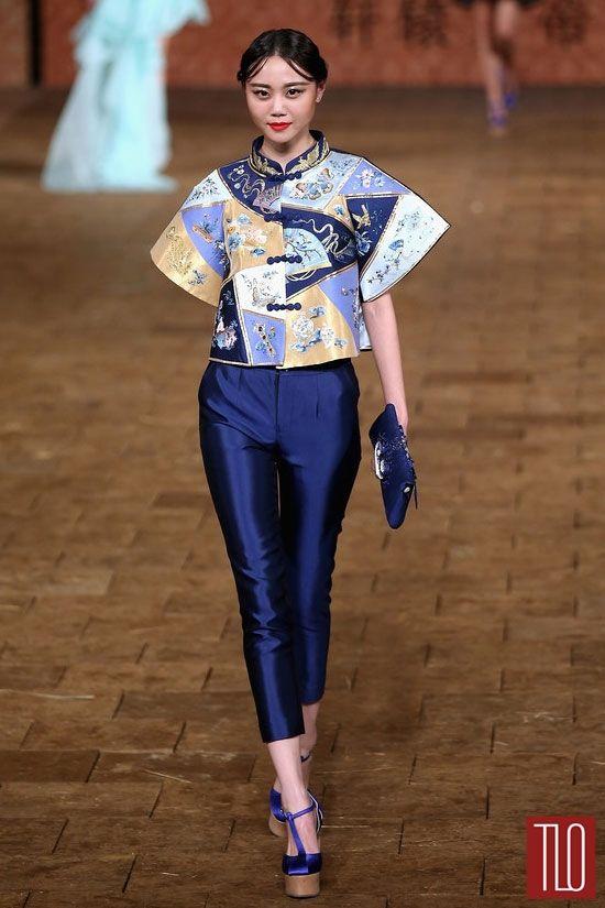 China Fashion Week Spring 2015 Zhan Zhifeng