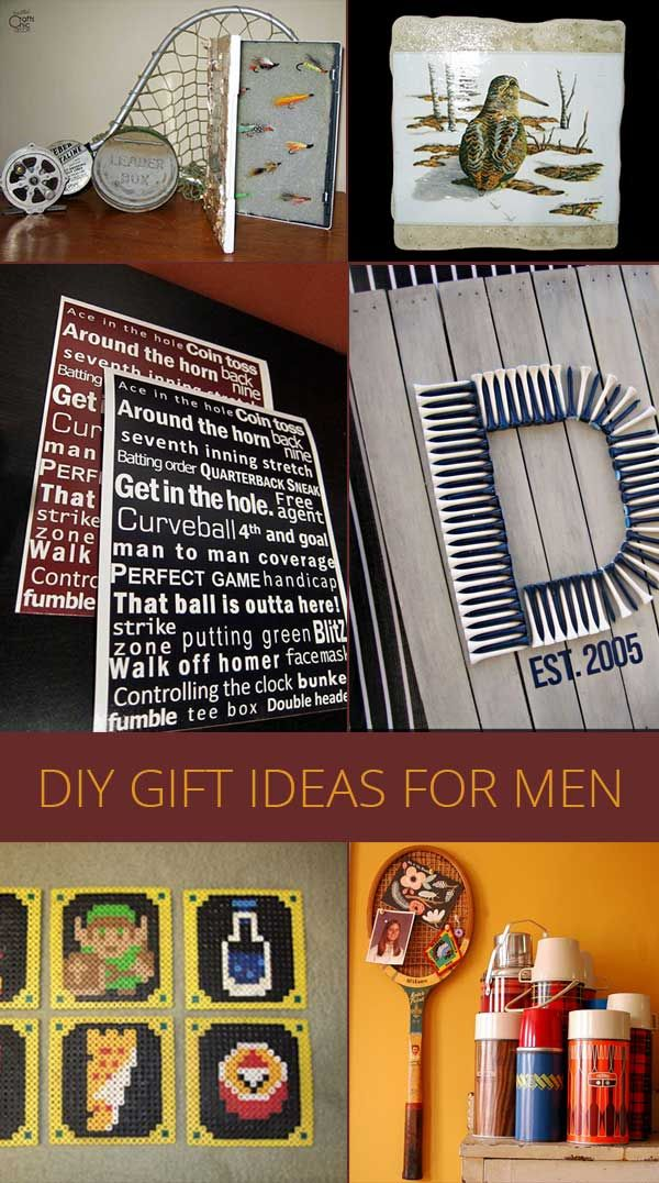 Gift Ideas For Men By Hobby Hobbies For Men Gifts Rustic Crafts