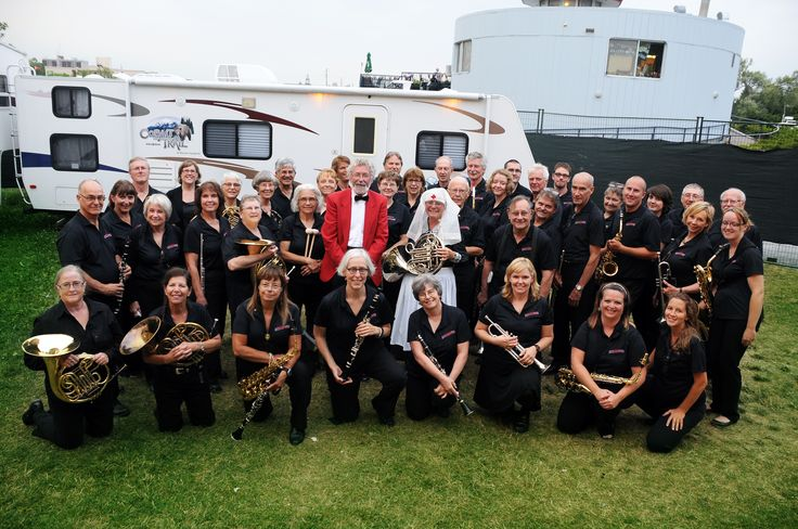 The Peterborough Concert Band played at Peterborough Musicfest on July 26th, 2014 to honour the sacrifices made during the First and Second World War. The night featured music from the eras and a presentation of photos.