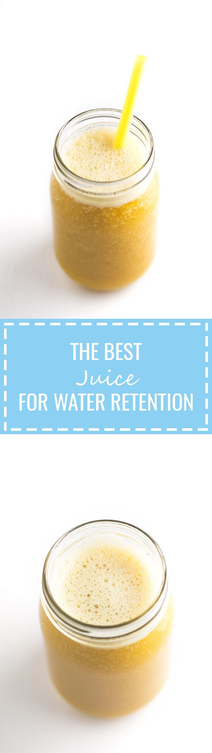 This is the best juice for water retention I've ever tried! It's perfect for those days you feel bloated and it tastes amazing.