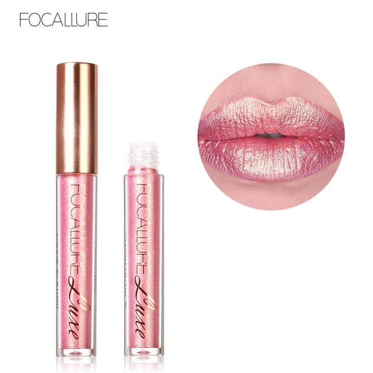FOCALLURE Liquid Lipstick Hot Sexy Rose Colors Lip Paint Matte Lipstick Waterproof Long Lasting Lip Gloss Lip Kit
