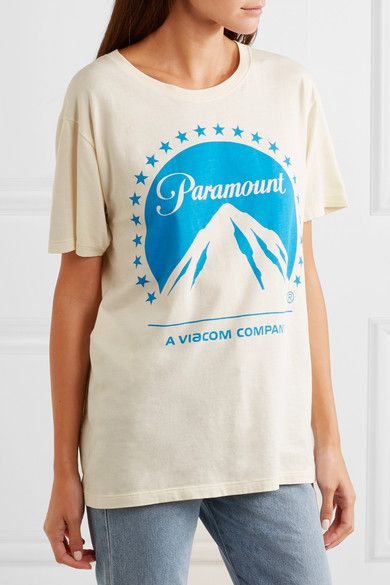 31680d16ebaa Gucci - Printed Cotton-jersey T-shirt - Ivory
