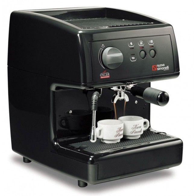 Nuova Simonelli Oscar sort espressomaskin