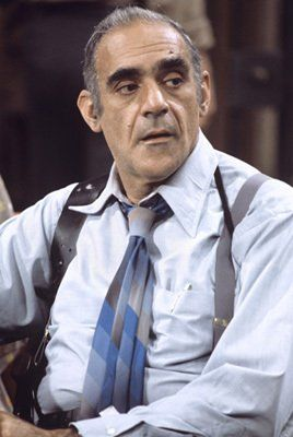 In memory of Abe Vigoda - (Abraham Charles Vigodah) 2/24/1921 - 01/26/2016 born in NYC. Died of natural causes age 94. Best known for the Godfather and Barney Miller