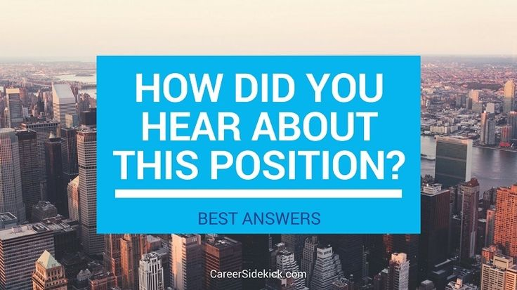 Answering  - best interview answers