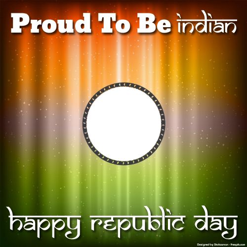 Republic Day 26th January Frame With Your Photo and Name.Create Whatsapp DP of Republic Day With Your Photo.Indian Republic Day Frame With Your Photo Maker.Edit Photo Frame Online For Republic Day Wishes.Online Festival Whatsapp Profile Pics Generator.Best Wishes For Republic Day Celebration Wishes Designer Frame With Your Photo and Name Generator.Best Custom Photo Profile Picture Generator For Happy Republic Day Celebration Wishes,Download Photo Frame To Mobile and PC and Share on Whatsapp…