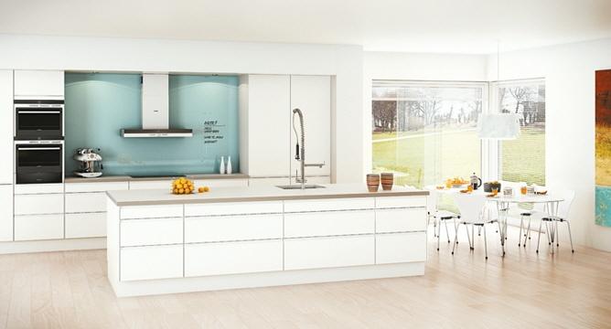 Sigdal Lino kjøkken – en skandinavisk og moderne kjøkkenserie