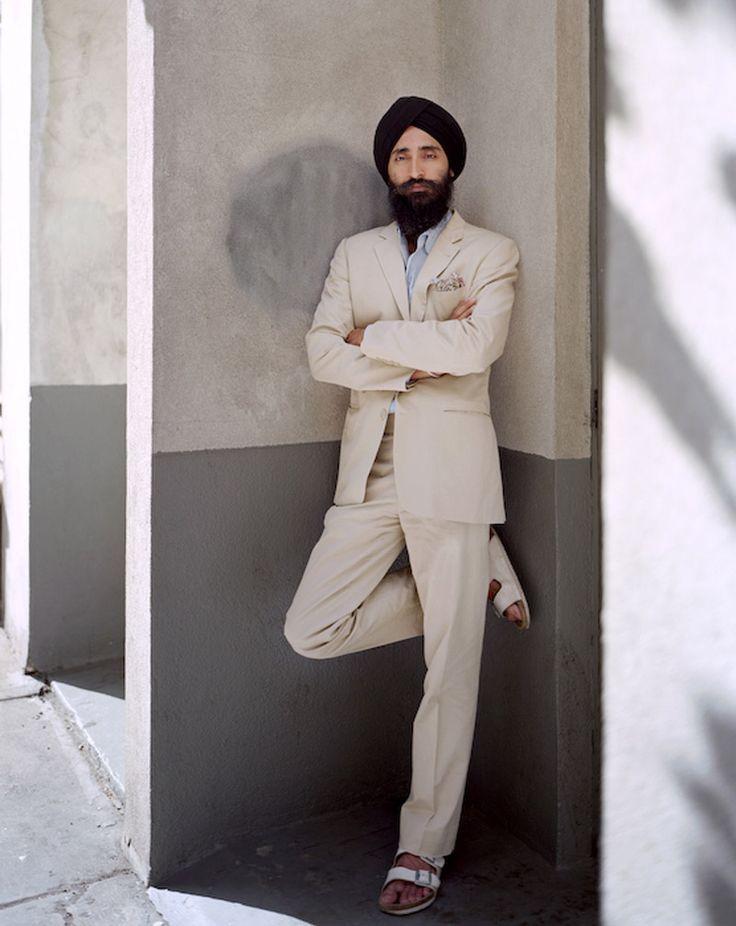 Sikh Chic - Waris Ahluwalia, one of GQ's best dressed